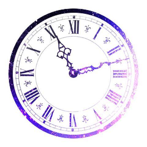 時計 宇宙柄の画像(プリ画像)