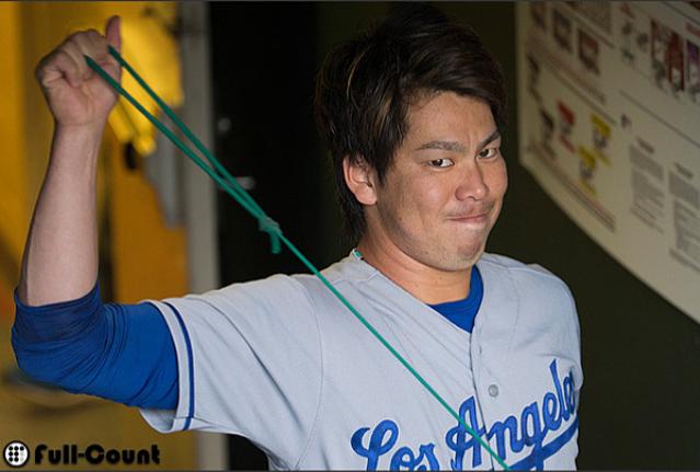 プロ野球選手の前田健太投手!ロサンゼルス・ドジャース 壁紙