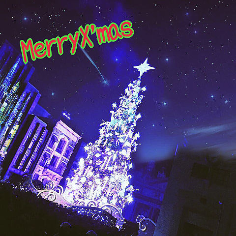 USJ 新クリスマスツリーの画像(プリ画像)