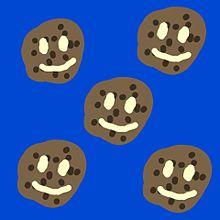 チョコレート画 クッキー バレンタインものの画像(#チョコレートに関連した画像)