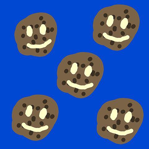 チョコレート画 クッキー バレンタインものの画像 プリ画像