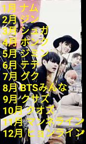 BTS誕生日占いの画像(占いに関連した画像)