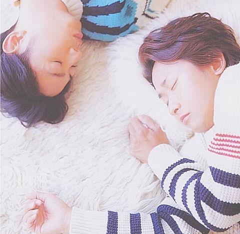 寝てますよ...。可愛すぎかよ(/// ^///)の画像(プリ画像)