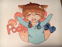 犬耳ポッキーさん♡保存はポチッとの画像(犬耳に関連した画像)