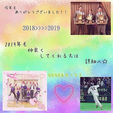 2018年>>>>2019年.🐶>>>>🐗の画像(プリ画像)