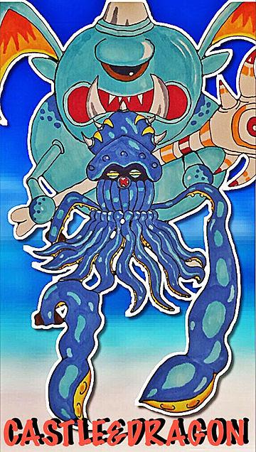 城ドラ クラーケン&サイクロプスの画像(プリ画像)
