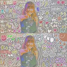 うの  わちゃわちゃ加工の画像(カラフル_全員_パステルに関連した画像)