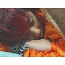 サグワの寝顔 プリ画像