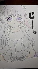 オリキャラ 描いてみました!の画像(女の子イラストに関連した画像)