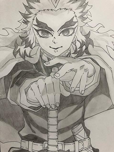 煉獄杏寿郎の画像(プリ画像)