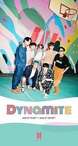 BTS DYNAMITE プリ画像