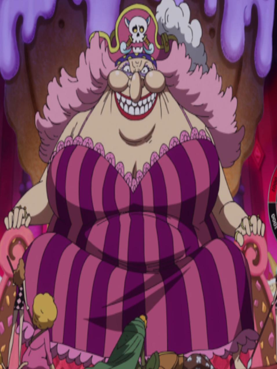 悪い顔をしたビッグマム