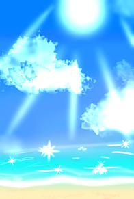 夏 海 太陽 風景 ホーム画面 フリー画像の画像(太陽に関連した画像)