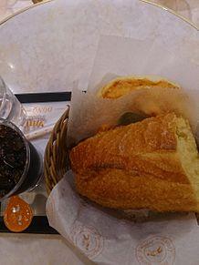 昨日わ、パンを食べましたーっ∩`・◇・) プリ画像