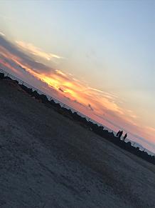 夕陽 プリ画像