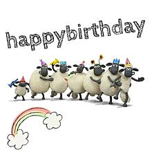誕生日の画像(ひつじのショーンに関連した画像)