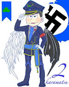 軍服カラ松の画像(プリ画像)