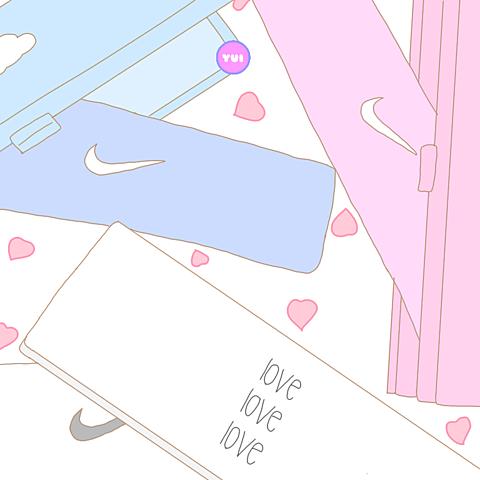 ナイキNIKEアメリカンゆるかわいい絵文字韓国イラストの画像(プリ画像)