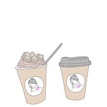韓国カフェモデルオルチャンおしゃれヘッダートプ素材 プリ画像