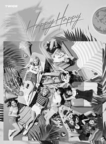 TWICE♡モノクロ プリ画像