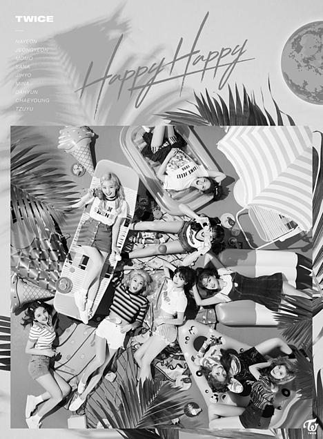 TWICE♡モノクロの画像(プリ画像)