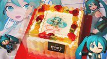 初音ミク ケーキ ボカロの画像(プリ画像)
