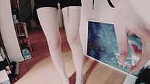 ただの私の脚🐻 プリ画像