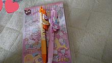 プリンちゃんとマイメロのボールペンお気に入り💗の画像(ボールペンに関連した画像)