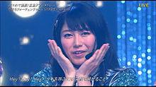 横山由依 the music day恋するフォーチュンクッキーの画像(プリ画像)