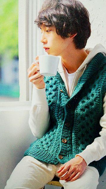 コーヒーで