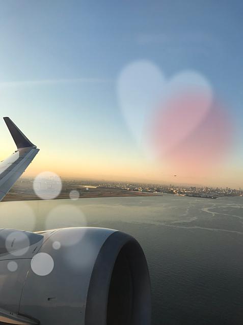 飛行機からの画像(プリ画像)