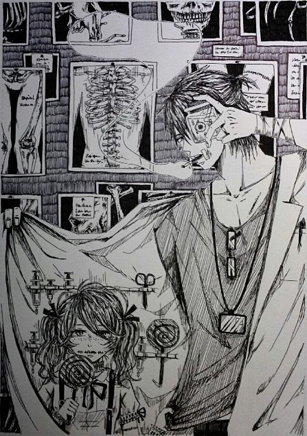 『I continue looking for normal』の画像(プリ画像)