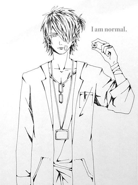 I am normal.の画像(プリ画像)