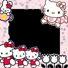 キティちゃん フレームの画像6点完全無料画像検索のプリ画像bygmo