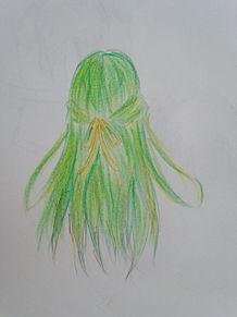 髪の毛だけの詩音ちゃん