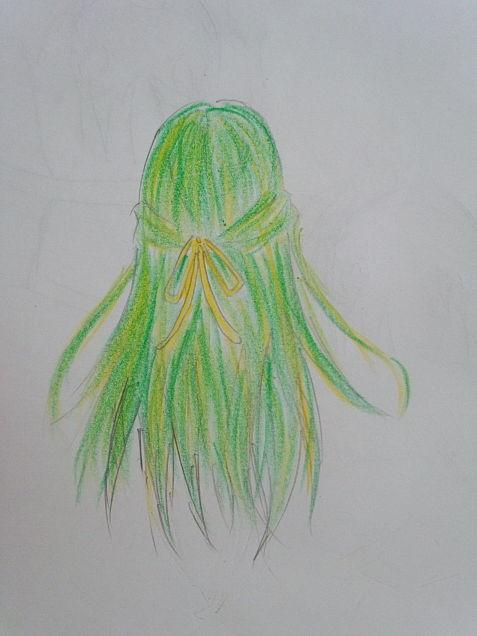 髪の毛だけの詩音ちゃんの画像(プリ画像)