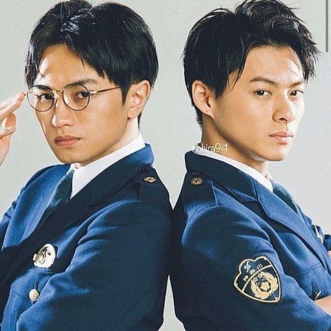 未満警察平野紫耀❤中島健人💙の画像(プリ画像)