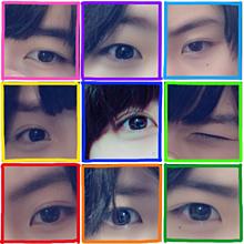目の画像(顔真似に関連した画像)