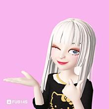 ゼペットZEPETOキティちゃんの画像(ペットに関連した画像)