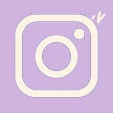 Instagram アイコン パープルの画像(パープルに関連した画像)