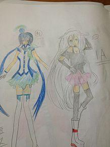 IA&蒼姫ラピスたん(*´∀`*) ←の画像(プリ画像)