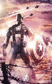 Avengers Captain America プリ画像
