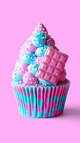 CAKEの画像(ケーキ/カラフルに関連した画像)