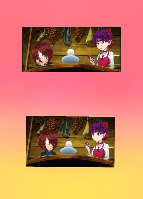 鬼太郎、猫娘のこと見すぎじゃ。の画像(プリ画像)