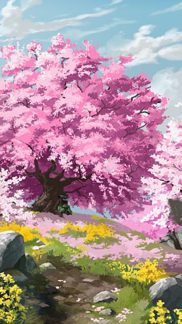 恋桜のおまじないの画像(プリ画像)