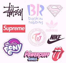 ロゴの画像(アディダス/ナイキに関連した画像)