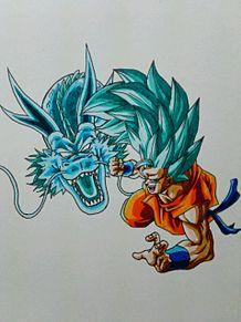 孫悟空SSGSS3 龍拳の画像(プリ画像)