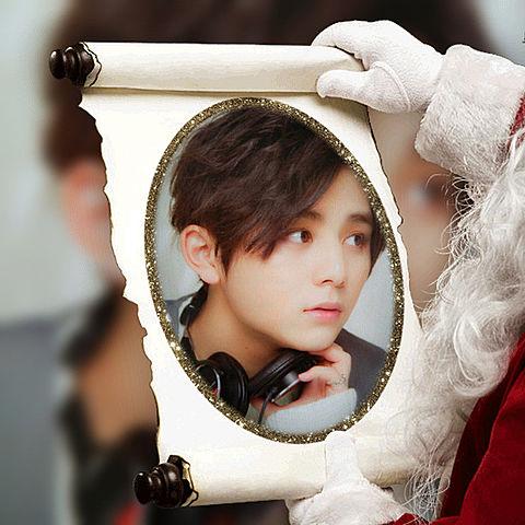 クリスマス☆良かったらポチの画像(プリ画像)