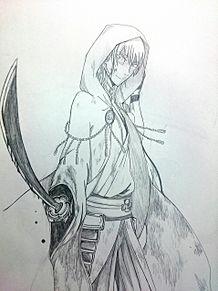 鶴丸国永(?) プリ画像