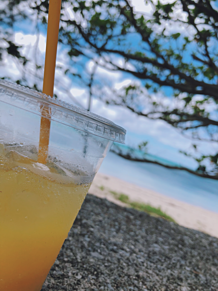 海オレンジジュースの画像(オレンジに関連した画像)
